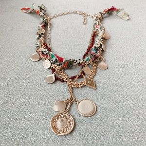 Anthropologie Aspen Layered Necklace